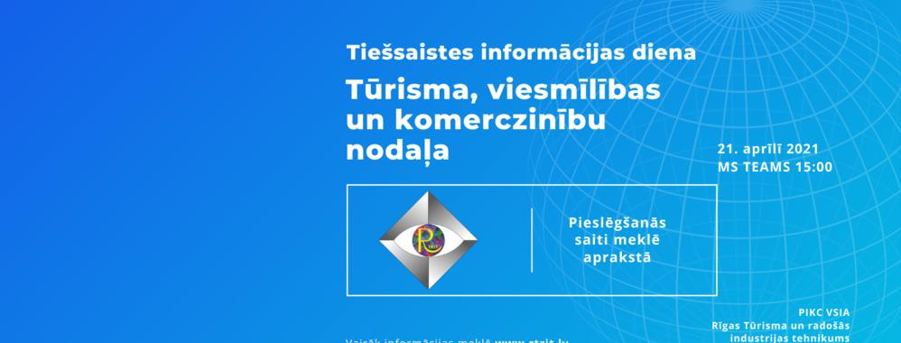 Informācijas diena - Tūrisma, viesmīlības un komerczinību nodaļā