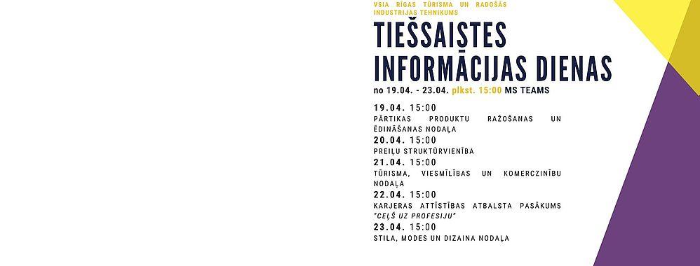 Informācijas diena RTRIT
